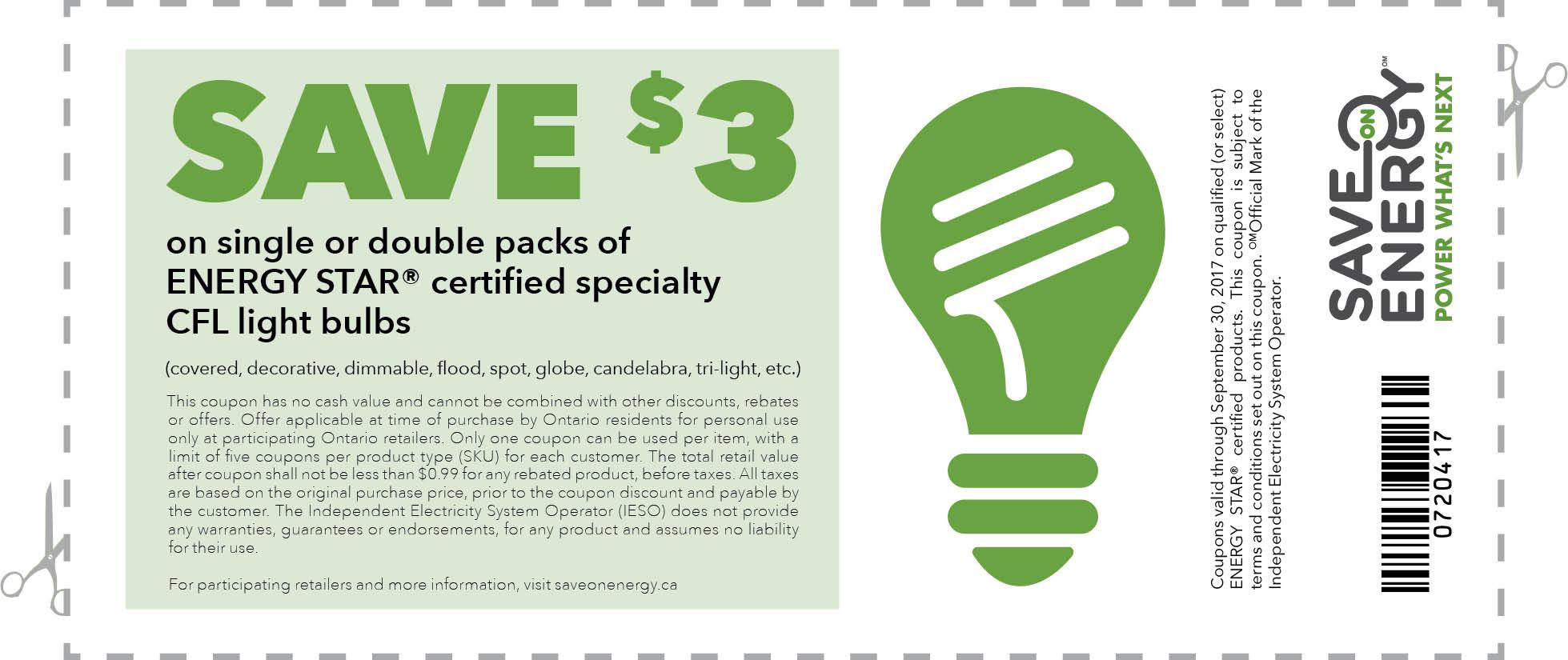 Save Energy And Money Printable Coupons Lifeology 101