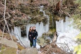 Snow CreekFalls II, Waterfalls, Ontario Waterfalls, Hiking Trails Ontario, Ontario Hiking, Bruce Trail, Beautiful Places in Ontario, Silver Creek Conservation Area,