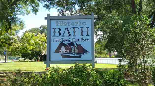 Historic Tour of Bath, North Carolina