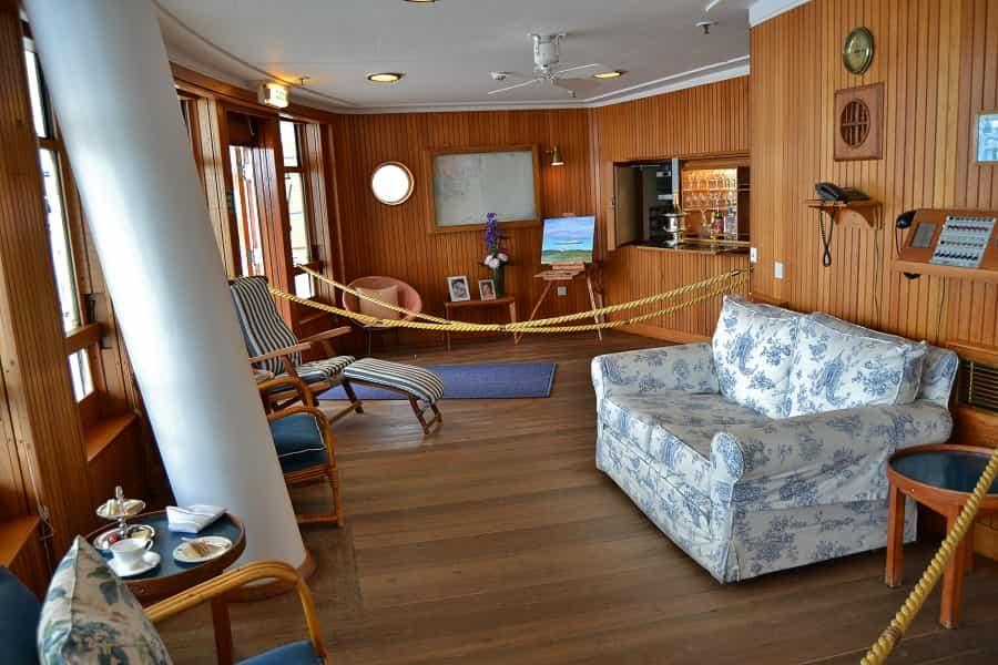 Sun Lounge on the Royal Britannia