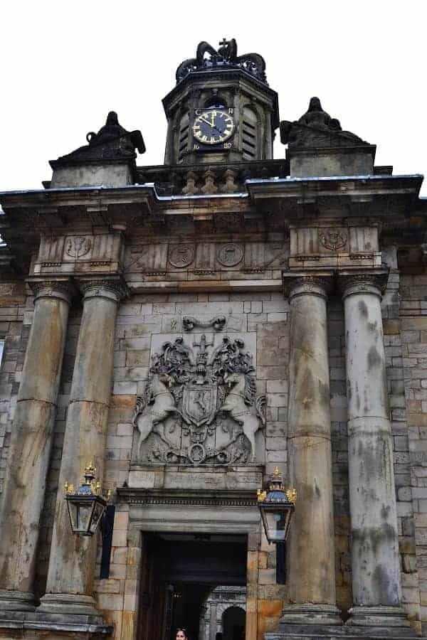 Holyroodhouse Palace