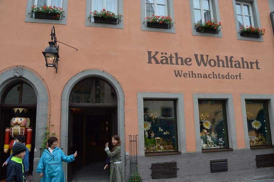 Christmas Museum in Rothenburg ob der Tauber