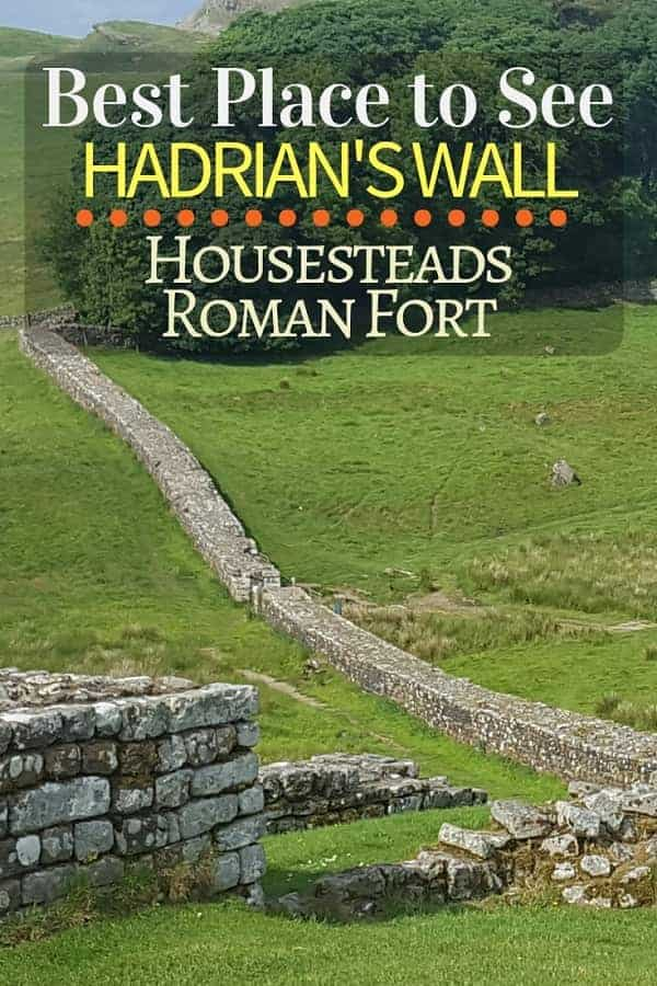 Best Place to View Hadrian's Wall is Housesteads Roman Fort