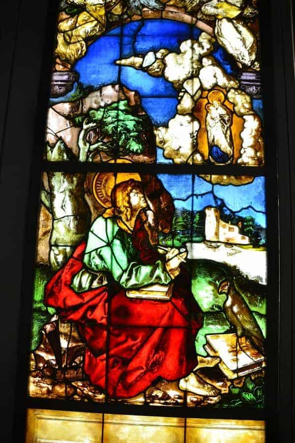 Original Stained Glass from Freiburg Minster