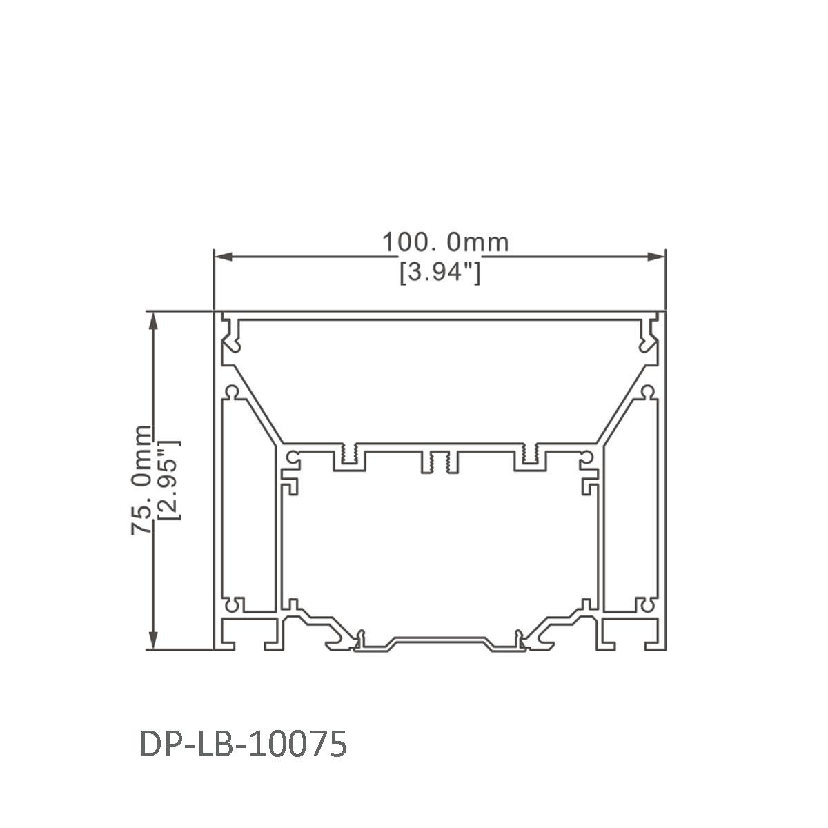 Dp Lb Led Linear Light Led Linear Light Aluminum Profile