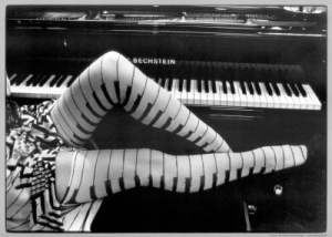 Piano Legs by Ben Christopher