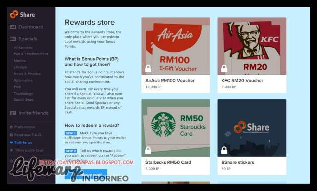 Review: 8Share – Share and Earn Cash!, The Jesselton Girl