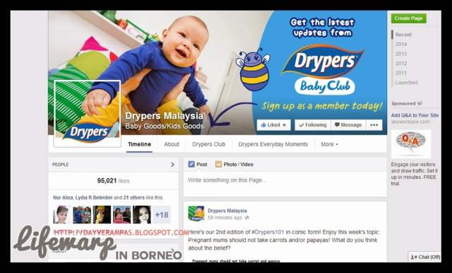 The Jesselton Girl I Love: Drypers Baby Club
