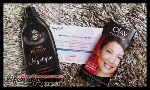 The Jesselton Girl Review: EverydayMe - Olay Regenerist Advanced Anti-Aging Serum & Downy Parfum - Mystique