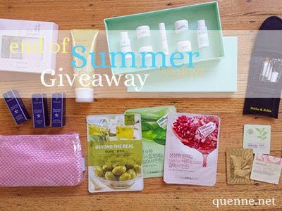 Giveaway: Quenne.Net's End of Summer Giveaway