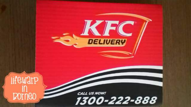 The Jesselton Girl Service: KFC New Online Order