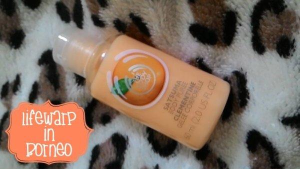 The Jesselton Girl Beauty: The Body Shop Mini Satsuma Body Puree