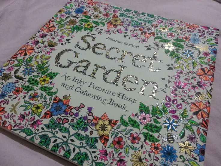 The Jesselton Girl Where To Buy Johanna Basfords Secret Garden An Inky Treasure Hunt