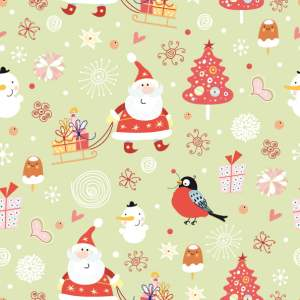 The Jesselton Girl free-vector-cute-santa-claus-wallpaper-vector_005549_santa_pattern (2)