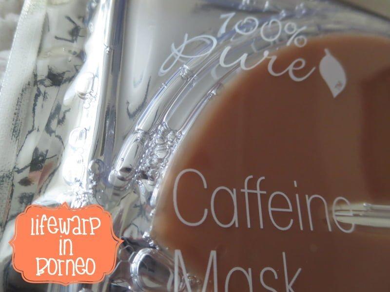 Beauty: 100% Pure Caffeine Mask, The Jesselton Girl