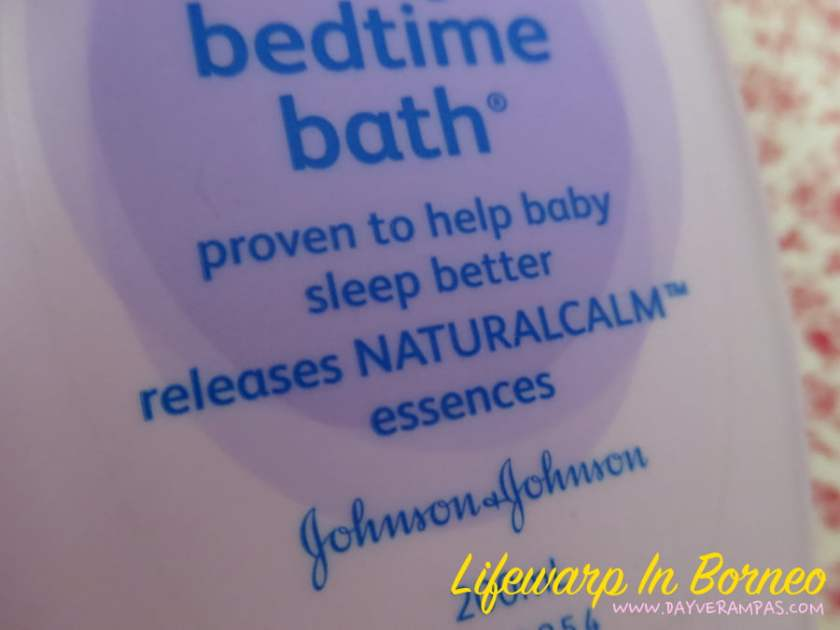 The Jesselton Girl Review: Johnson's Baby Bedtime Bath