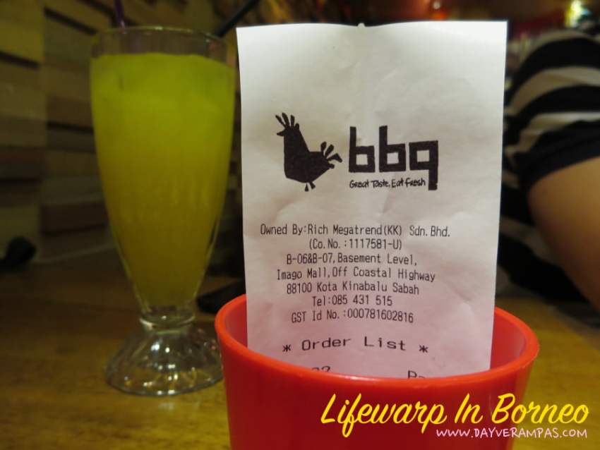 The Jesselton Girl Food: BBQ Chicken @ Imago Mall Sabah