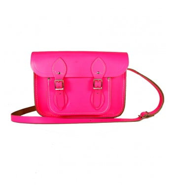 Cambridge Satchel Co. Satchel in Neon Pink