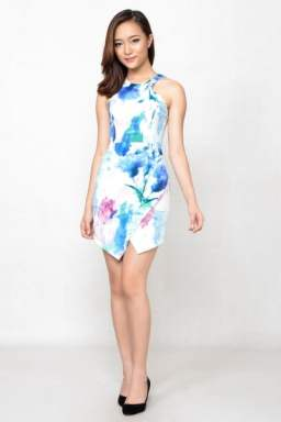 Ciera Printed Dress