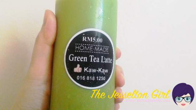 Green Tea Latte by Kaw Kaw