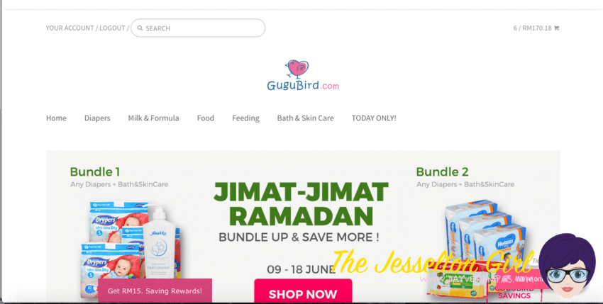The Jesselton Girl Shopping: GuguBird Is Not For East Malaysians