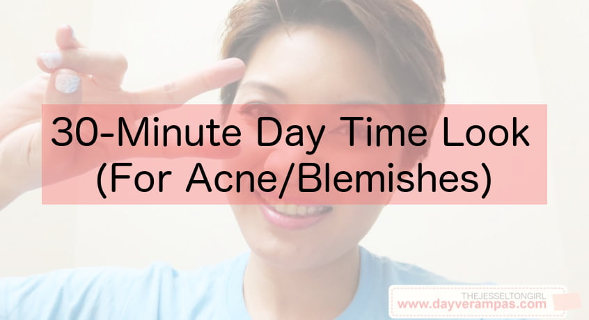 How-To: 30-Minute Day Time Look (For Acne/Blemishes)