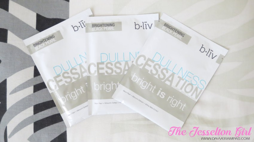 The Jesselton Girl Beauty: b.liv Dullness Cessation Bright is Right Face Mask