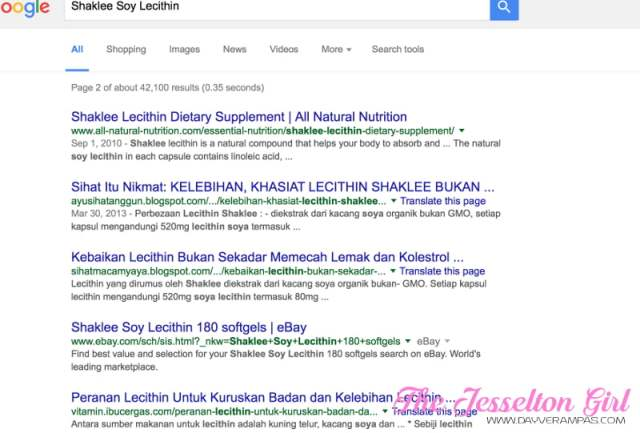 Shaklee Soy Lecithin