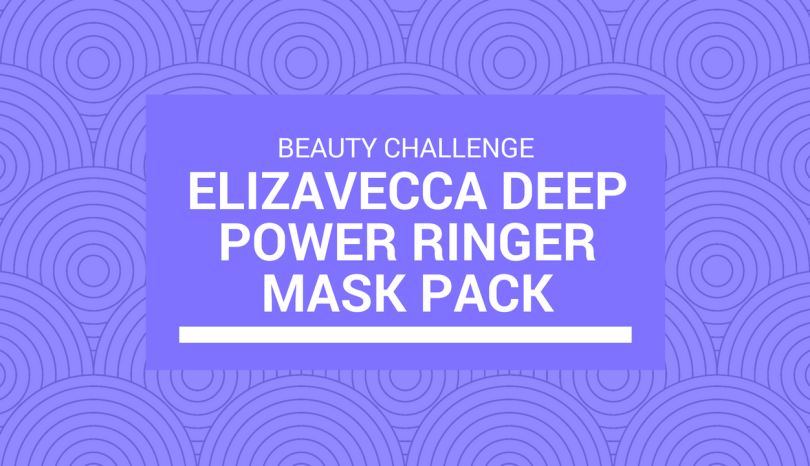 Challenge: 10-Day Mask Challenge with Elizavecca Deep Power Ringer Mask Pack from BB Cosmetic (Progress)