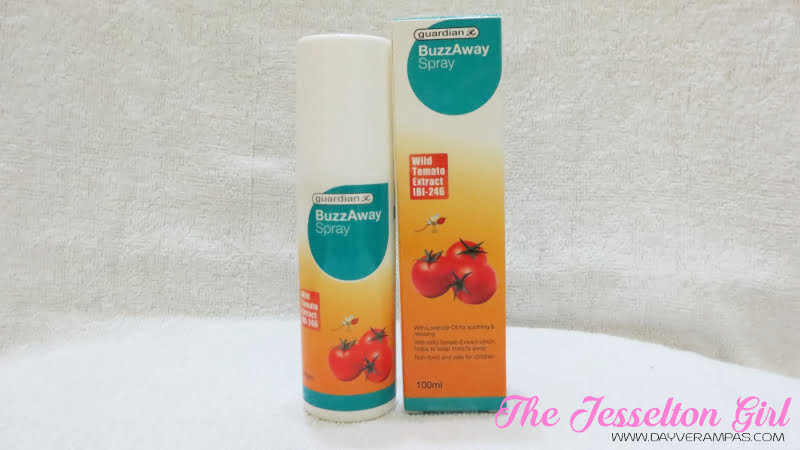 The Jesselton Girl Health: Guardian BuzzAway Insect Repellant Spray