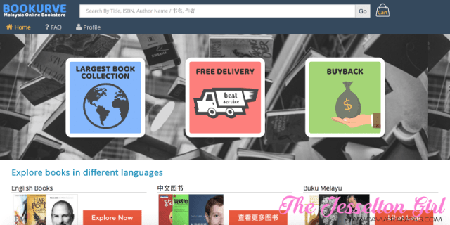 The Jesselton Girl Bookurve: A Malaysian Online Bookstore By Book Lovers For Readers