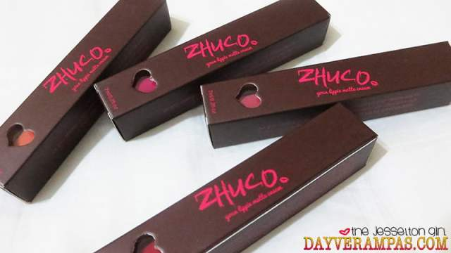 Zhuco Cosmetics Lippie Matte Cream
