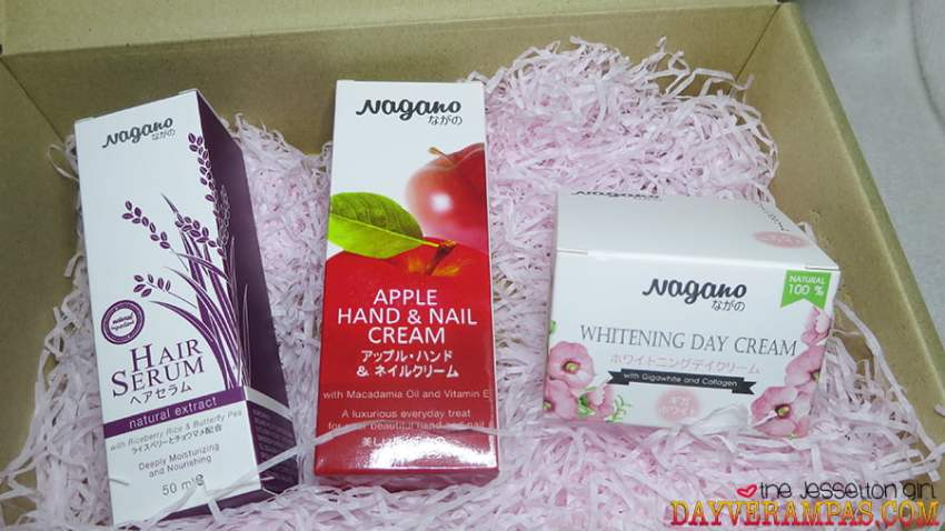 The Jesselton Girl Review: Top 3 Best-Seller NAGANO Japanese Premium Skincare Products in a Box