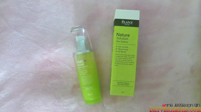 The Jesselton Girl Review: THE PLANT BASE Natural Solution Skin Essence