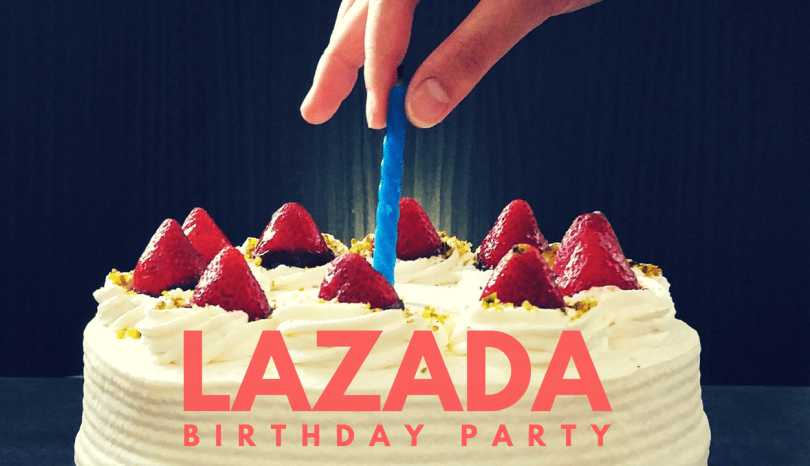 Event: Lazada 5th Birthday Surprise on 22 – 24 March 2017