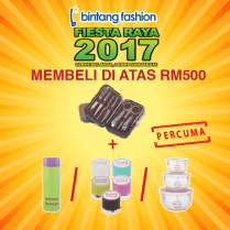 Shopping: Look Elegant and Fashionable this Hari Raya with Bintang Fashion, The Jesselton Girl