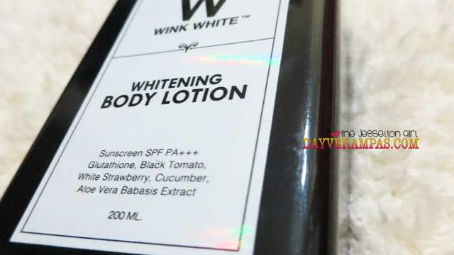 Whiter and Glowing Skin with the New Wink White Whitening Body Lotion, The Jesselton Girl