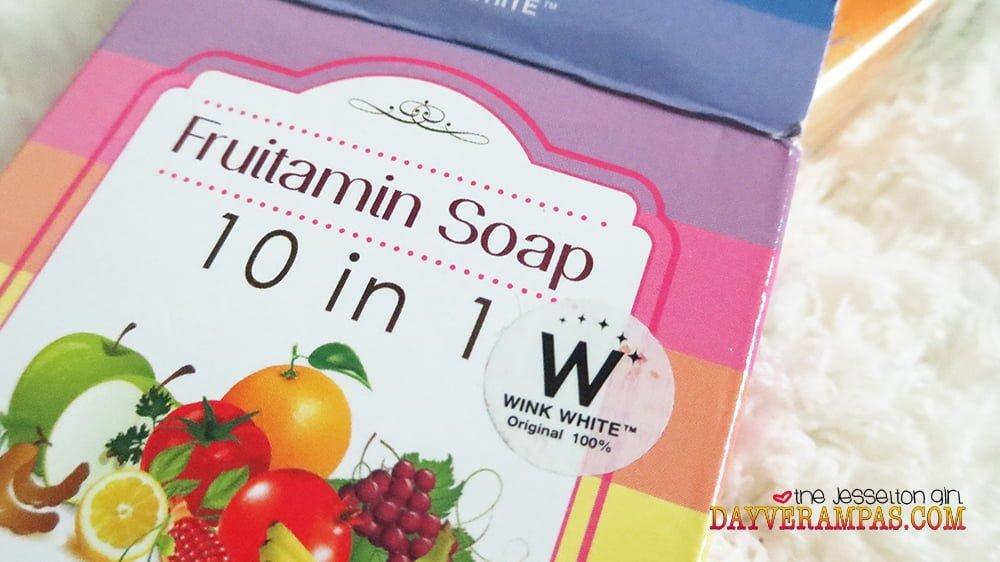 Wink White Panacea Fruitamin Soap 10-in-1