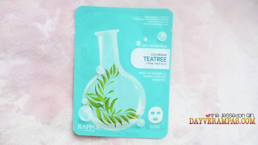 The Jesselton Girl Nature Medics Rappol Cica Renew Teatree Mask Moisturizes & Lightens My Skin Instantly!