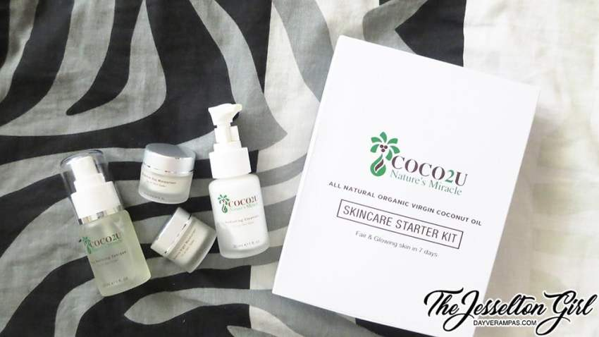 The Jesselton Girl Review: COCO2U Nature's Mineral Skincare Starter Kit