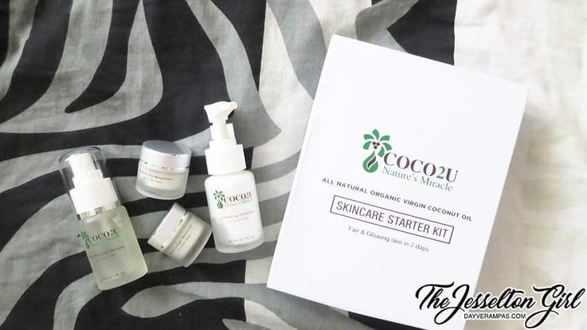 COCO2U Nature's Mineral Skincare Starter Kit