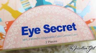 Horien Eye Secret 38% 3 Months Color Contact Lenses