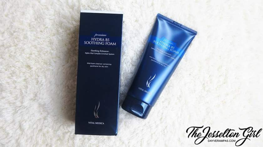 The Jesselton Girl Review: [AHC] Hydra B5 Soothing Foam Cleanser (프리미엄 하이드라 B5 수딩 폼 )