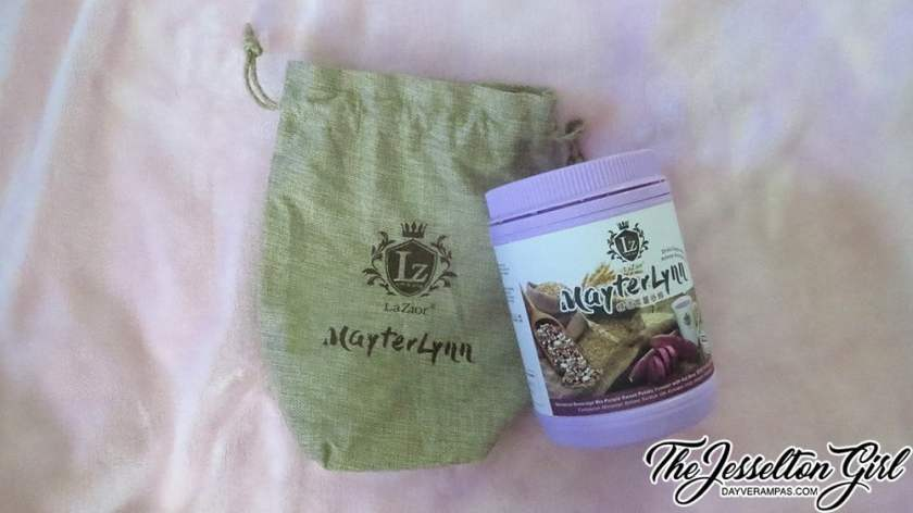 The Jesselton Girl Review: LaZior MayterLynn Beverage Mix Purple Sweet Potato Powder with Oat Bran