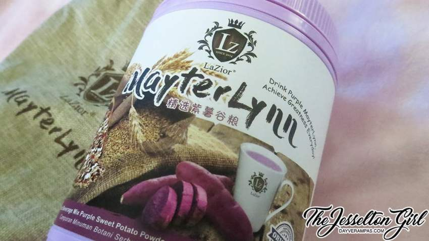 LaZior MayterLynn Beverage Mix Purple Sweet Potato Powder with Oat Bran