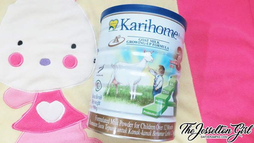 The Jesselton Girl Review: Karihome Goat Milk Growing-Up Formula (Step 3)