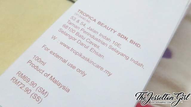 TROPIKA Face Cleansing Oil