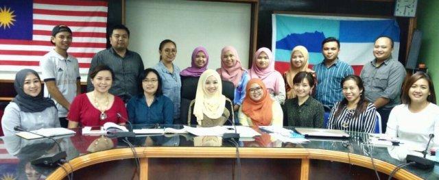 2018 Ranau Unduk Ngadau Committee Members