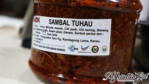 The Jesselton Girl Serunding & Sambal Tuhau from Ranau