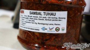 The Jesselton Girl #MyHeartIsInRanau: Tasty & Halal Sambal Tuhau & Serunding Tuhau from Kg. Rondogung, Ranau